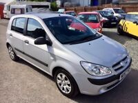 HYUNDAI GETZ 1.1 GSI 5 DOOR MANUAL - LOW MILEAGE - OUTSTANDING CONDITION INSIDE & OUT.