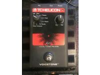 TC Helicon R1 Voicetone Vocal Reverb Effects Pedal