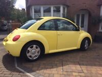 Yellow BEETLE (Manual) in good condition to sell