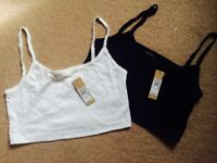 River Island NEW Tagged Crop Tops 10/12