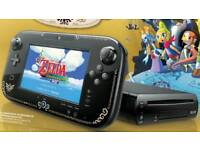 Wii U Zelda Edition with 1tb hdd loads of games