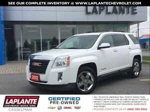 2012 GMC Terrain SLT V6 Leather|Roof|Navigation