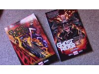 ALL-NEW GHOST RIDER - First two volumes - Good condition, CHEAP