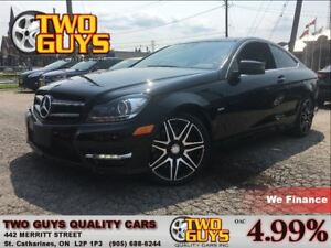 2013 Mercedes-Benz C-Class 250 LEATHER PANORAMIC ROOF PREMIUM PA