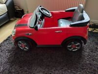 Mini Cooper S for kids