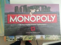 National Heritage Monopoly Brand New Unopened