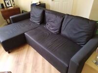 IKEA Lugnvik Sofa Bed and Chaise Longue - 9 months old