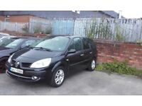 renault grand scenic 7 seater leather 1.5 diesel 6 speed