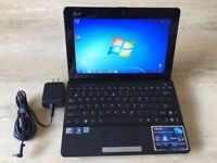 LAPTOP NETBOOK SMALL ASUS WINDOW 7 WIFI READY CALL FOR INFO