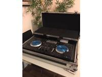 Numark NS6 DJ Controller + Magma Flight Case