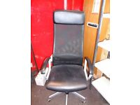 Swivel Chair. Ikea Markus office chair. Excellent condition.