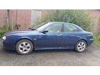 alfa romeo 156 selespeed.spares or repair.