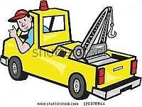 Tow truck driver for hire