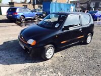 PX TO CLEAR --FIAT SEICENTO --MOT JUNE 2018--BARGAIN