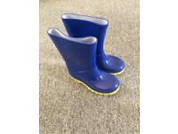 Wellies size 8 infant