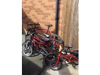 6 bikes for sale job lot or individually priced £150 job lot
