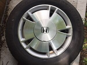 Tires and Rims from Honda Civic