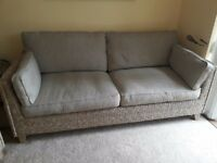 Marks and Spencer rattan sofa suite