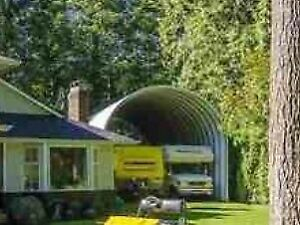 Huge metal garage/Quonset