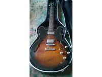 Epiphone Dot - 335 type electric guitar , made in korea 1990's