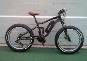 SALE Dual Suspension electric fat Bike
