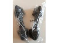 adidas 4kg Neoprene Dumbbell pair - Black