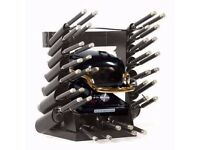 New and Boxed Hot Tong Stove with Big and Small Hot Tongs for Black Hair