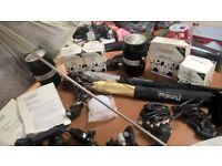 portaflash lighting and other equipment bundle