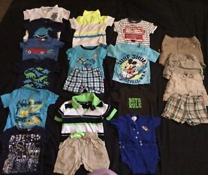 Shorts and T-Shirts size 12 months