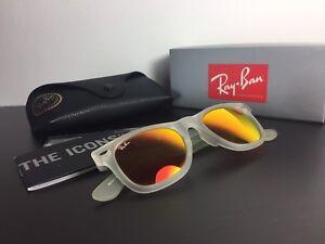 Ray ban sunglasses Wayfarer Transparent & mirror lenses