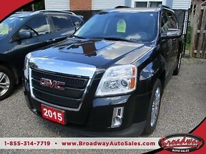 2015 GMC Terrain LOADED SLT2 EDITION 5 PASSENGER 3.0L - V6.. AWD