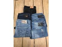 Diesel jeans and Holister Bundle