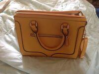 Mustard Handbag by Avon