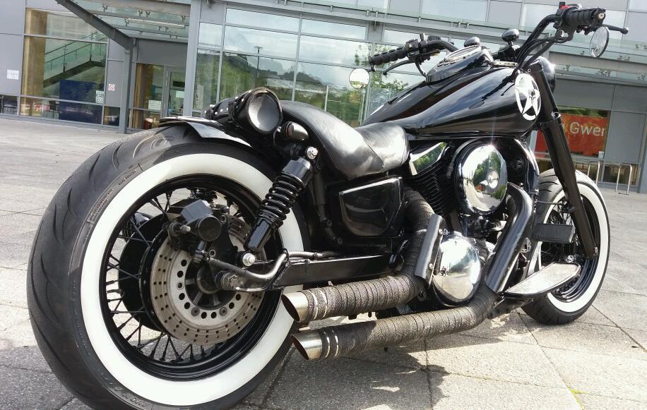 Kawasaki Vn 1500 Bobber Chopper Harley