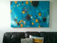 Large scale abstract painting