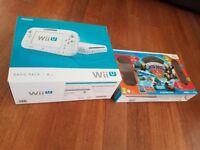 Wii u with 8 and 5 skylanders figures