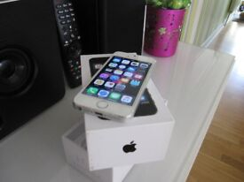 Apple iPhone 5s - 16GB on EE network mint condition .
