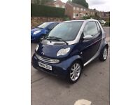 Smart Car Automatic 700cc Convertible 12 Months Mot Leather Interior Only £1200