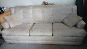 Free older Simmons sofa bed
