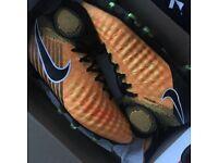 Nike Magista obra football boots (orange) NEW