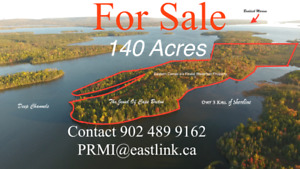 Eastern Canada's No. 1 Piece of Water Frontage Now For Sale