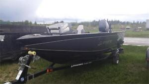 2014 BOAT PACKAGE! LEGEND XTERMINATOR + 50 HP! LESS THEN 20HRS!