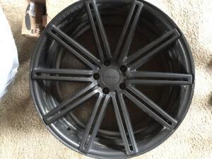 4 Vossen  22 inch rims 5 x 120 bolt pattern