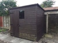 TONGUE & GROOVE GARDEN SHED