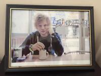 Ed Sheeran Signed Framed Photo