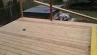 AC deck building and restoring
