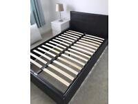 Small Double Ottoman Bed