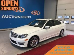 2013 Mercedes-Benz C-Class 300 4MATIC ONLY 20390KM! SUNROOF! FIN