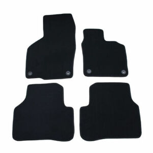 VW Passat Black Carpet 3C1-863-011-D Floor Mats