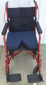 Lightweight Collapsible Adult Transport Chair
